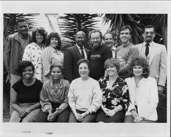 Archive Highlight: BW Photo of LA Songwriters Showcase Staff - Circa Mid-1980's