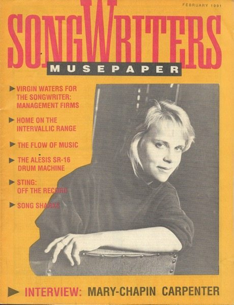 Songwriters Musepaper = Volume 6 Issue 2 - Interview: Mary Chapin-Carpenter